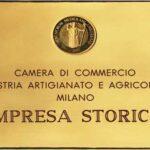 Targa Impresa Storica della Pasticceria Castelnuovo