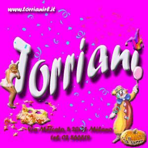 Torriani - La Bottega del Carnevale ‹ Articoli per feste 5d9917f1ee06