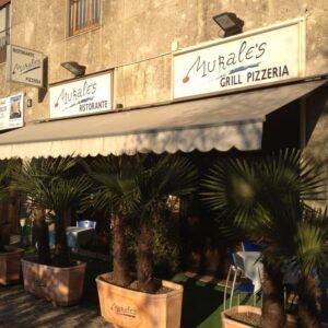 Esterno Ristorante Murales Milano