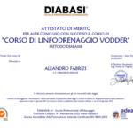 Attestato Aleandro Fabrizi