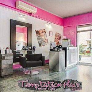 Il salone Temptation Hair