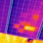 rilievo termografico pannello solare